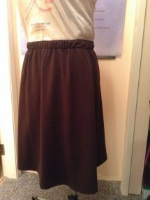 May 21 - and my brown skirt to go with it