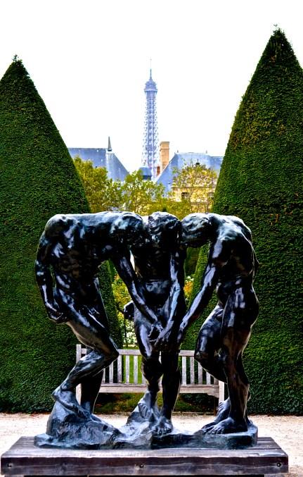 The Three Shades at the Musee de Rodin 2016