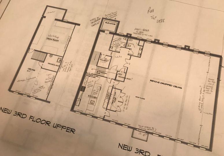 construction plan 3rd floor