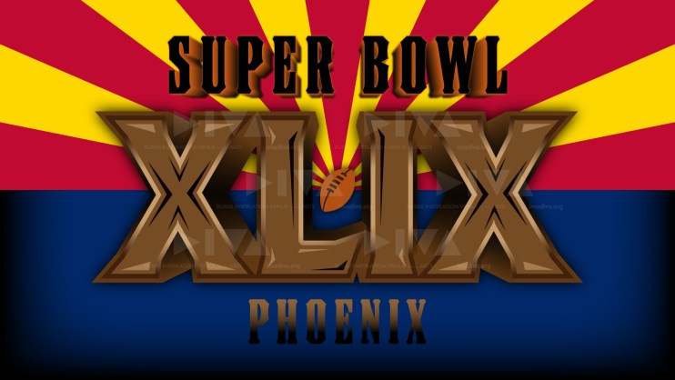 alternate 2015 Super Bowl 49 Arizona logo design: Arizona state flag