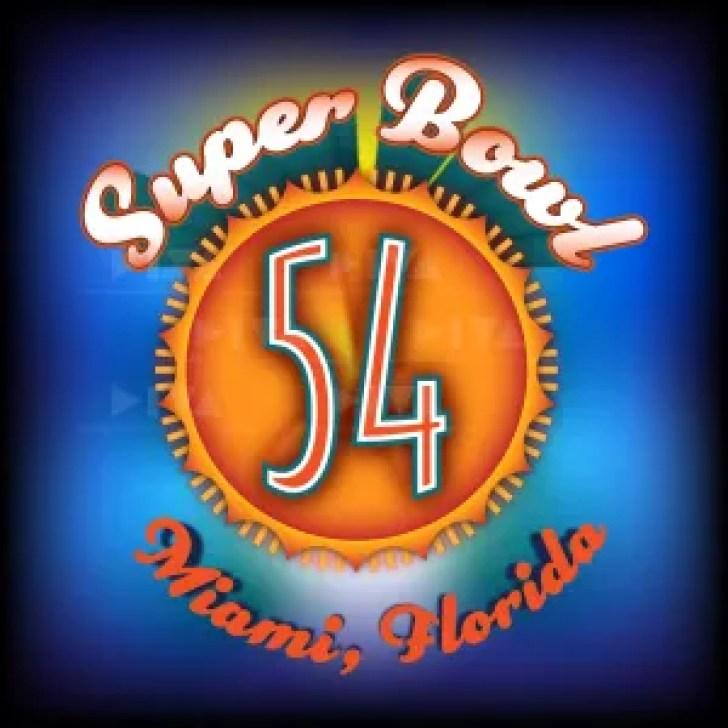 alternate 2020 Super Bowl 54 Miami logo design: Dolphin sunshine