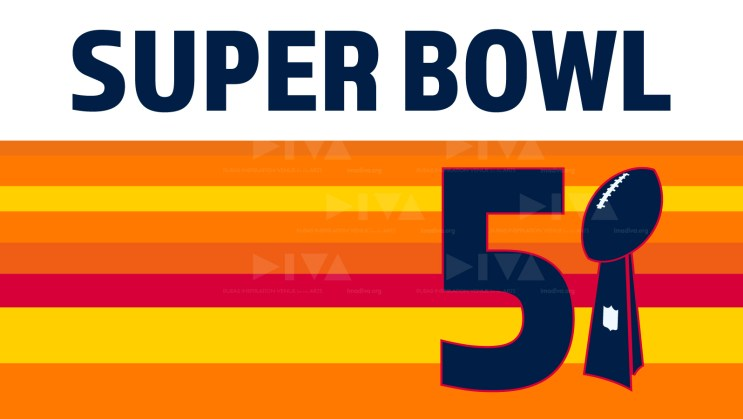 alternate 2017 Super Bowl 51 Houston logo design: Astros tequila sunrise