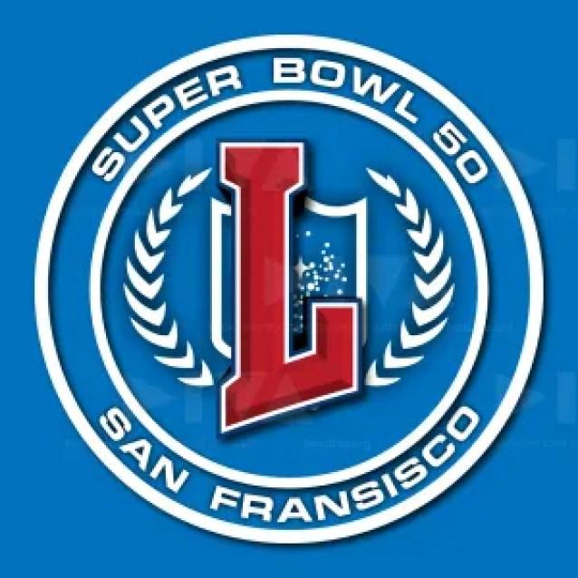 alternate 2016 Super Bowl 50 San Francisco logo design: Star Trek Starfleet flag