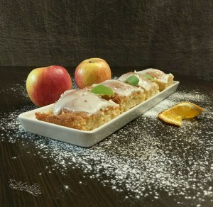 Ciasto z polówkami jabłek