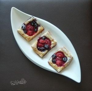 Szybkie ciasteczka z owocami