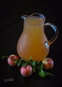 Kompot jabłkowo-miętowy