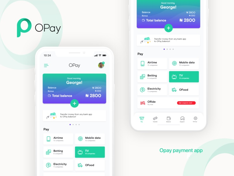 OPay: Features And How To Become An OPay Agent