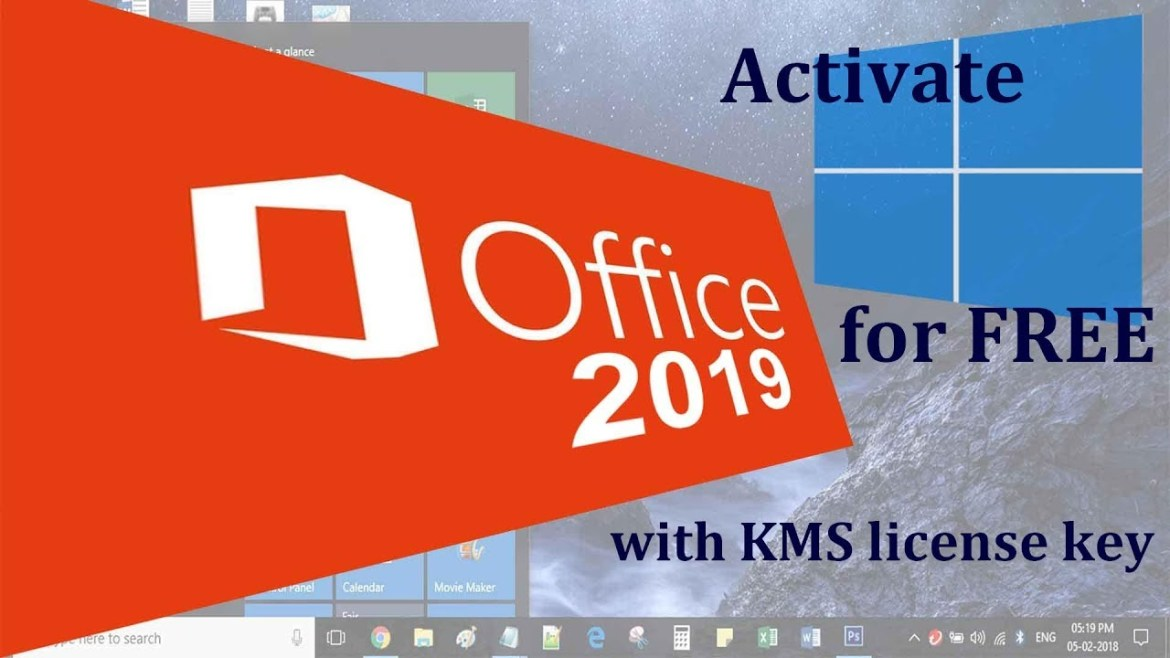 How to activate Ms office 2016 and 2019 without activation Key