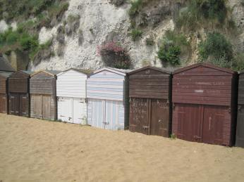 The huts seemed out of place belonging more to an old film than to the 21st century.