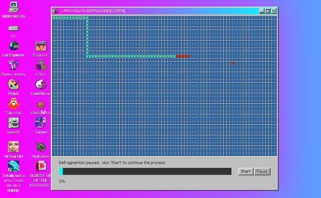 Windows 93, an operating system between nostalgia and madness - image 8
