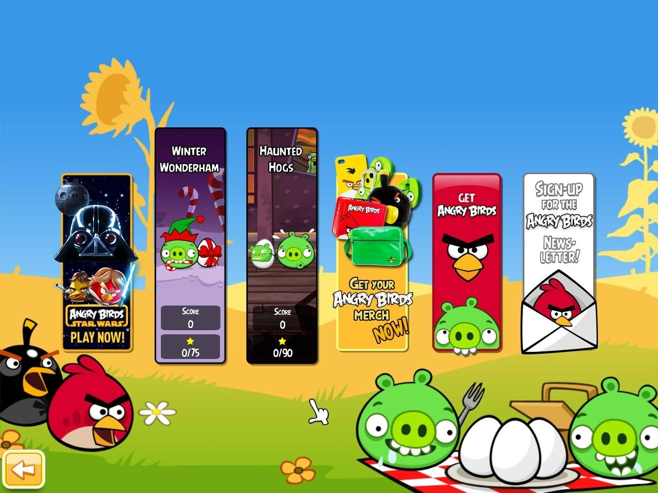 Download Angry Birds Seasons 410 For PC Free