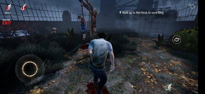 Dieses Bild zeigt einen gehängten in Dead by Daylight