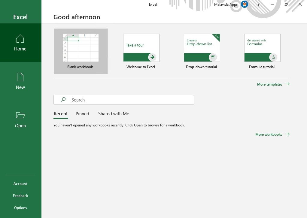 Download Microsoft Excel 16 0