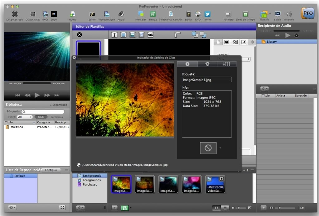 ProPresenter 6.4.1625 - Download for Mac Free
