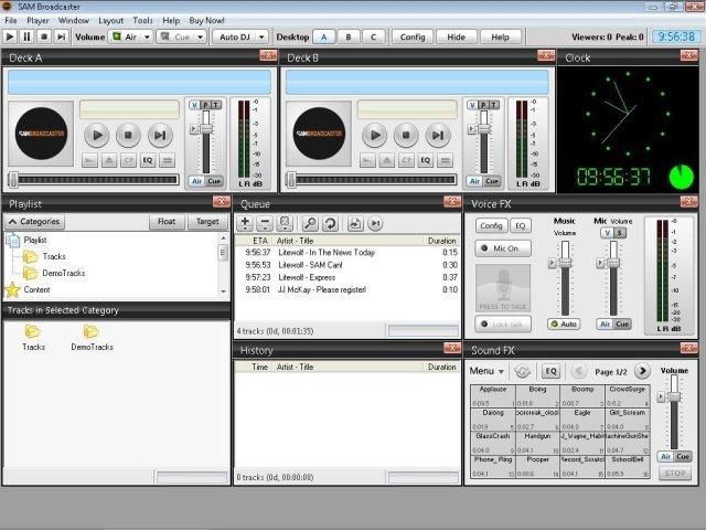 SAM Broadcaster v2013.6 - Download for PC Free