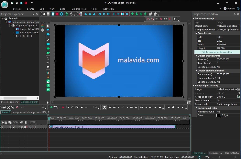 Vsdc Free Video Editor Logo | Unixpaint