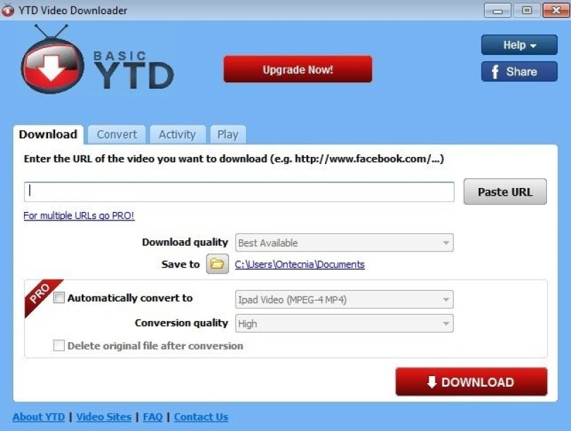 YTD Video Downloader 5.9.7 - Download for PC Free
