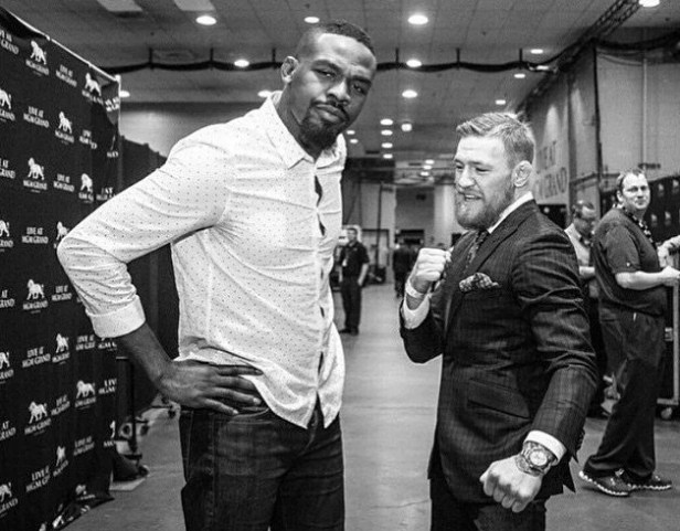 "Learn to Box Backwards""- Conor McGregor Kicks Jon Jones Out of ..."