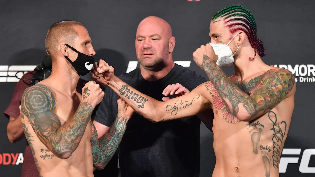 Photo of WATCH: Intense Stand-Off Between Sean O'Malley and Eddie Wineland Ahead of UFC 250 – EssentiallySports