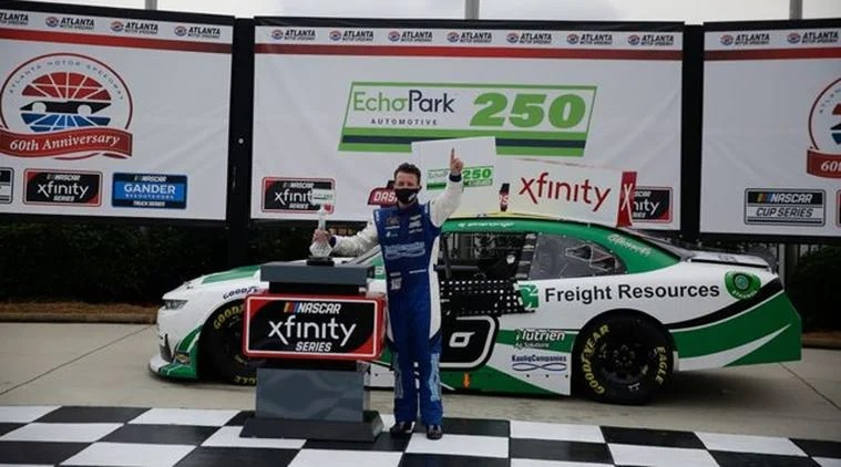 Photo of NASCAR Xfinity: Part-time Racer AJ Allmendinger Wins at Atlanta, Will Run the Homestead 'Dash 4 Cash' Race
