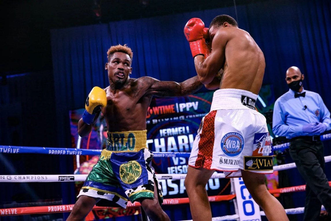 Jermell Charlo Destroys Jeison Rosario With A Jab, Unifies The Belts - Essentiallysports
