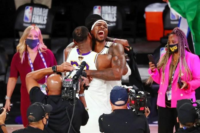 "Keep Fighting""- An Emotional Dwight Howard Celebrates Winning His First NBA Championship - EssentiallySports"