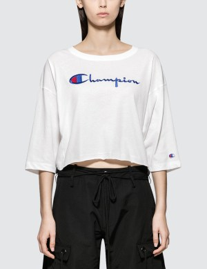 Champion Reverse Weave Cropped 3/4 Sleeves T-shirt