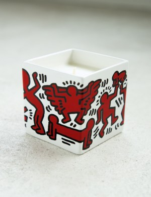 Ligne Blanche Keith Haring Limoges Square Candle