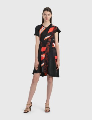 KOCH Jacquard Jersey Dress