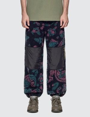 Aries Paisley Fleece Track Pants
