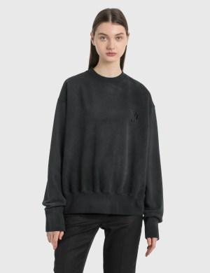 We11done Glow-in-the-dark Teddy Sweatshirt