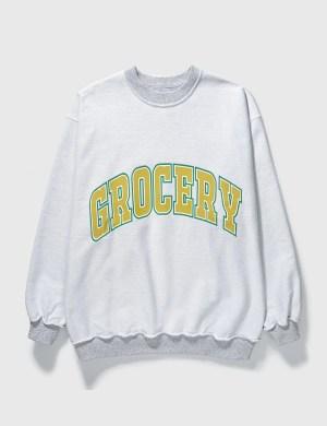 Grocery SW-005 Reversible Yellow Sweatshirt