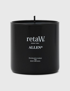 Retaw ALLEN* Black Fragrance Candle