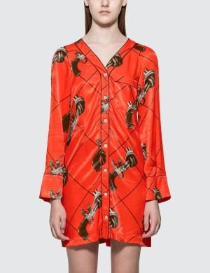 Kirin Guns Vi Mini Pajama Dress