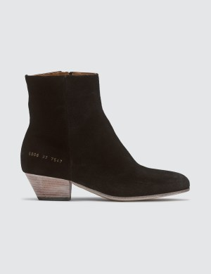 Common Projects Suede Western Boots
