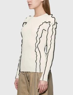 KOCH Wide Shoulders Sweater