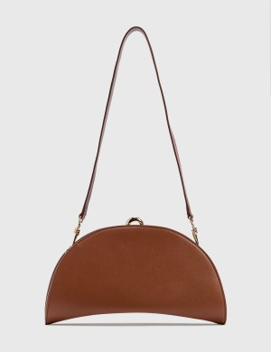 Nanushka Moon Vegan Leather Shoulder Bag