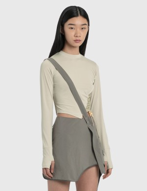 Hyein Seo Twisted Long Sleeve Top