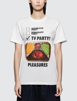 Pleasures Tv Part T-shirt