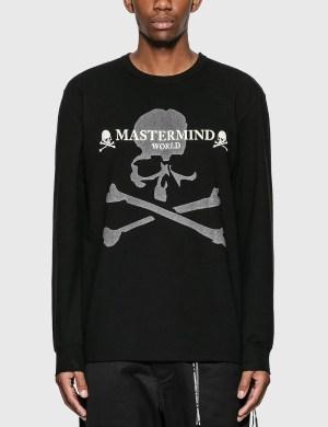 Mastermind World Reflective Logo Long Sleeve T-Shirt