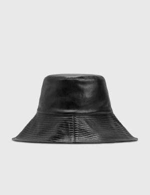 Nanushka Serge Leather Sunhat