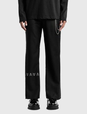 C2H4 Los Angeles C2H4 x Mastermind Japan Accumulation Streamline Tailored Trousers