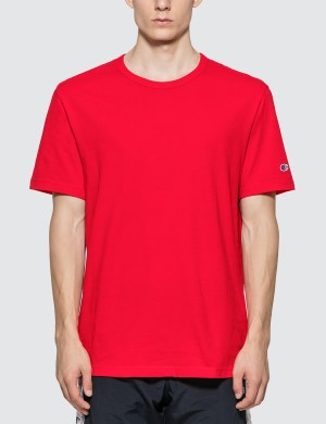 Champion Reverse Weave Basic Crewneck T-shirt