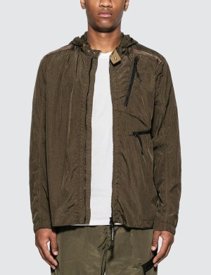 CP Company Nylon Shirt Jacket with Hood