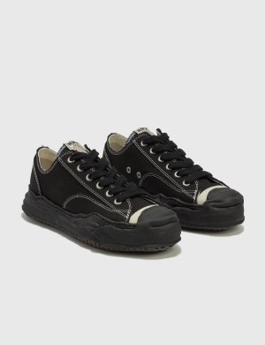 Maison Mihara Yasuhiro Original Sole Toe Cap Canvas Low Cut Sneaker