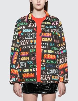 Kirin Kirin Typo Field Denim Jacket