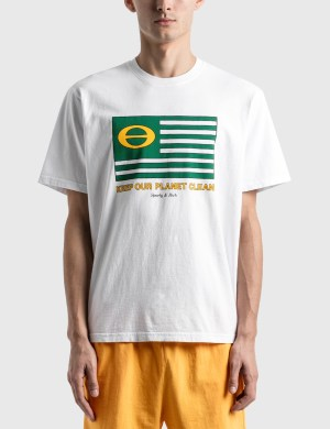 Sporty & Rich Ecology Flag T-Shirt