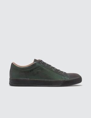 Lanvin Low Top Sneaker Matt Reflective Calf