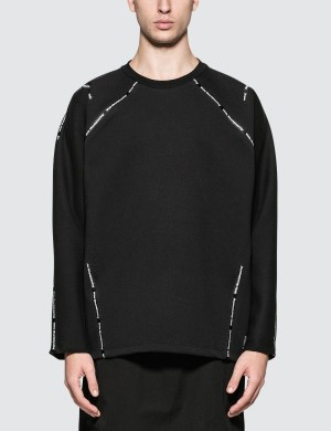 White Mountaineering Wm Logo Taped Sweatshirt