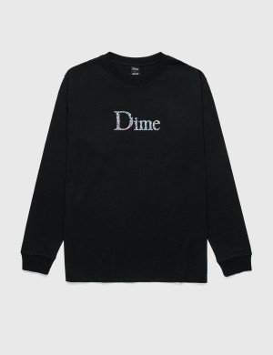 Dime Scribble Classic Logo Long Sleeve T-Shirt